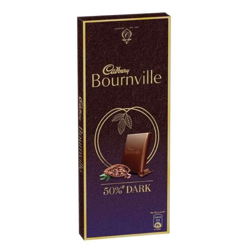 Cadbury Bournville 50% Dark Chocolate 80gm