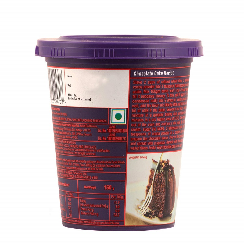 Cadbury Cocoa Powder Mix 150gm