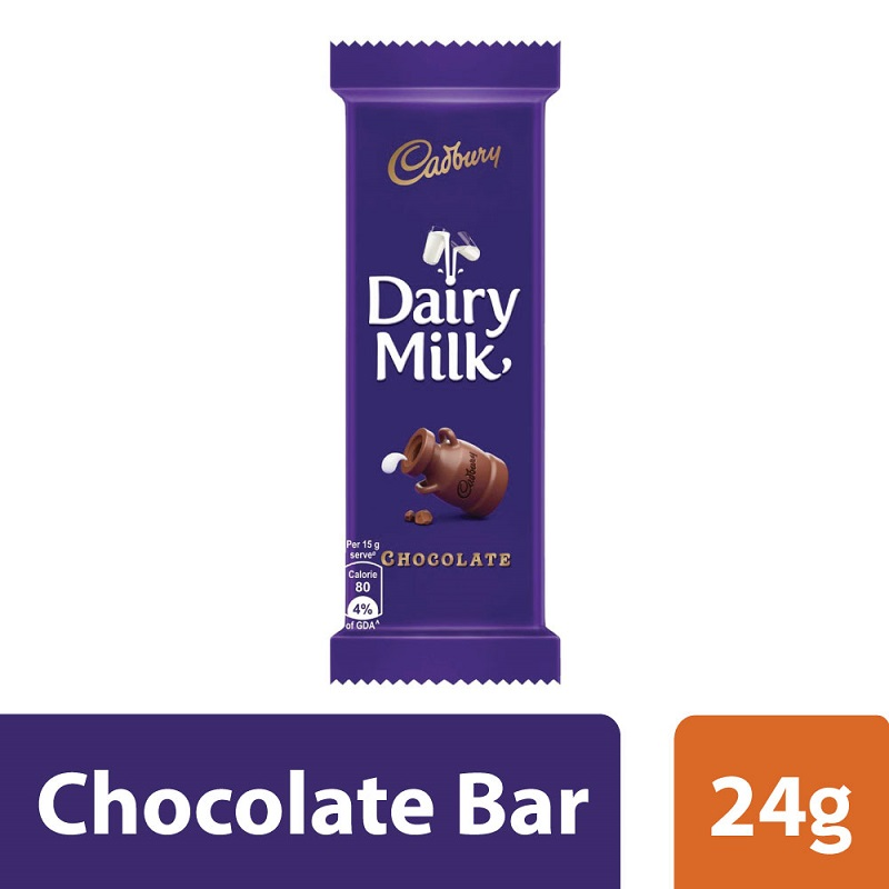 Cadbury Dairy Milk Chocolate 24gm