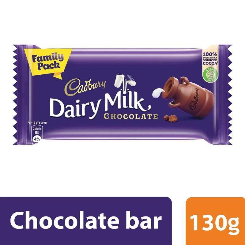 Cadbury Dairy Milk Silk Chocolate Family pack 130g