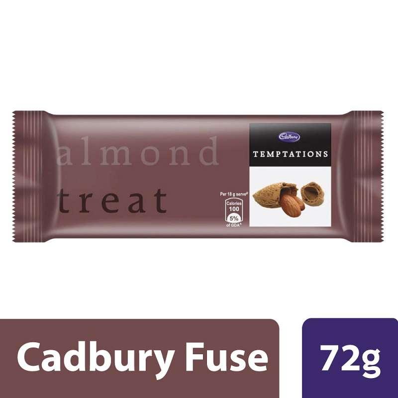 Cadbury Temptations Chocolate Almond Treat 72gm
