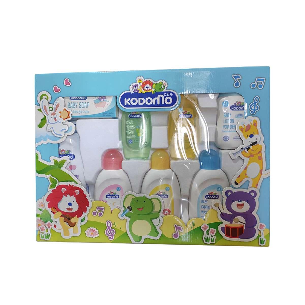 KODOMO Baby 8 pcs Gift Set