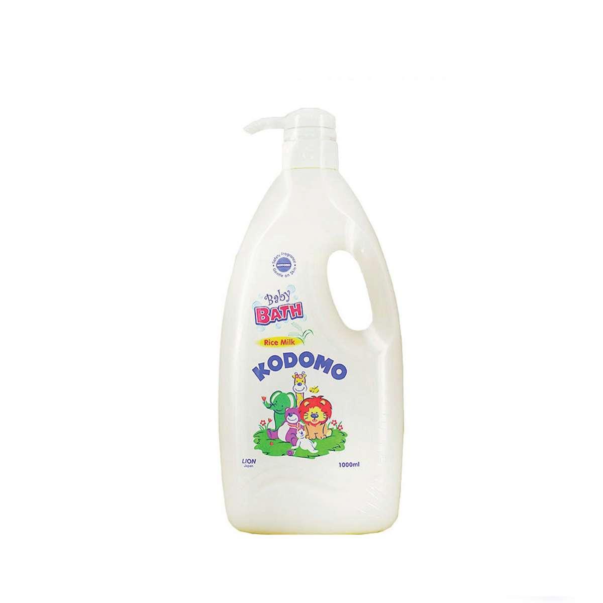 KODOMO Baby Bath Rice Milk 1000 ML