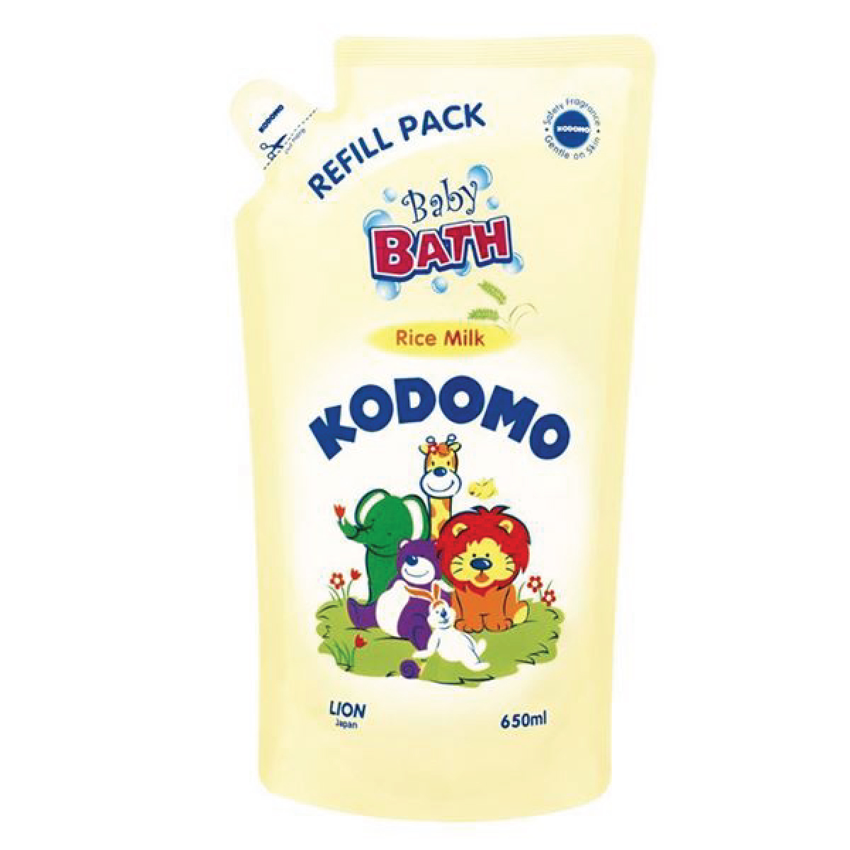 KODOMO Baby Bath Rice Milk Refill