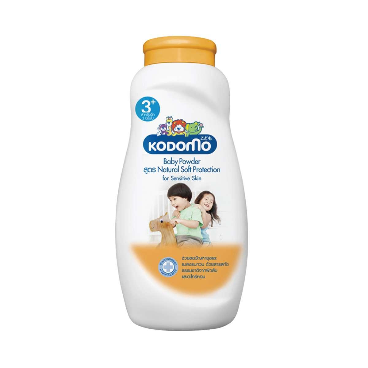 KODOMO Baby Powder Natural Soft 50 gm