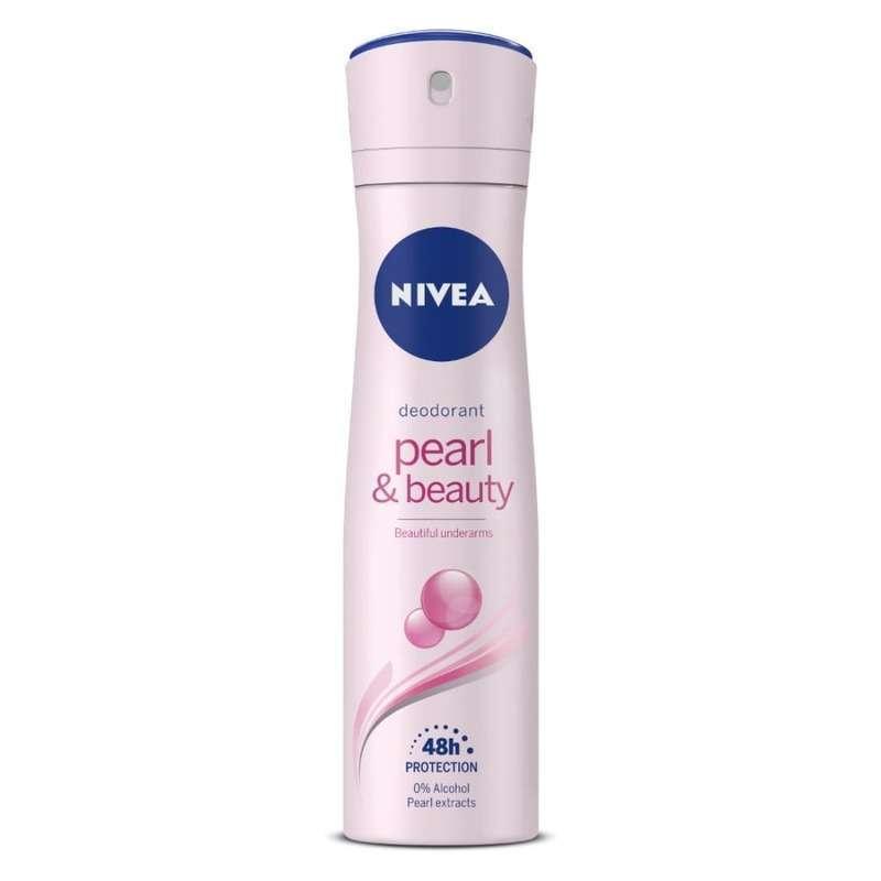 NIVEA Female Body Spray Pearl _ Beauty 150ml