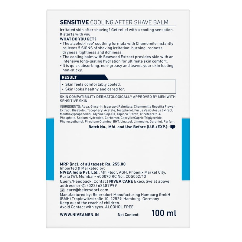 NIVEA MEN Sensitive Cooling Post Shave Blam 100ml