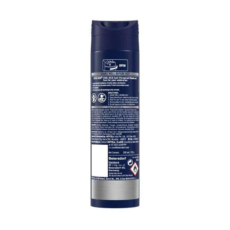 Nivea Men Deodorant Cool Kick Spray 150ml