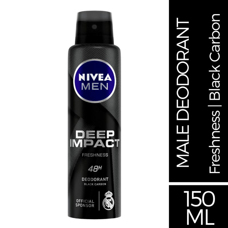 Nivea Men Deep Impact Dry & Clean Feel 150ml
