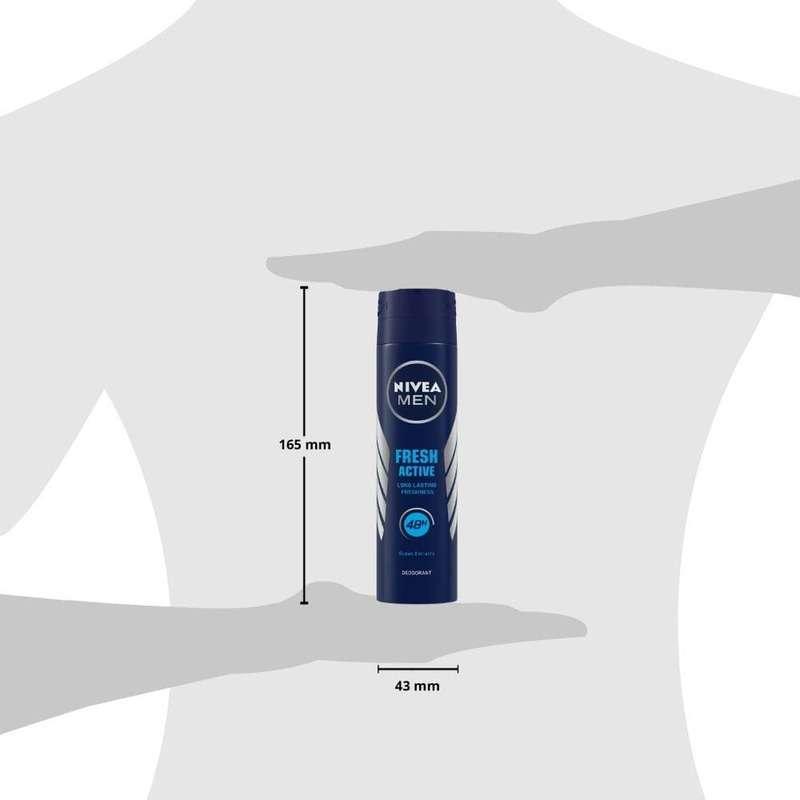 Nivea Men Body Spray Fresh Active 150ml