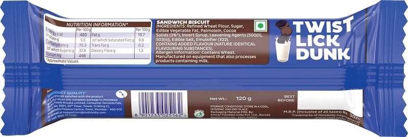 Oreo Creme Biscuit 133gm