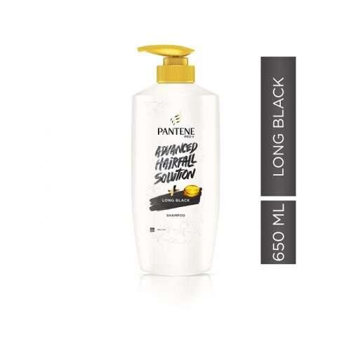 Pantene Shampoo Long Black 650ML