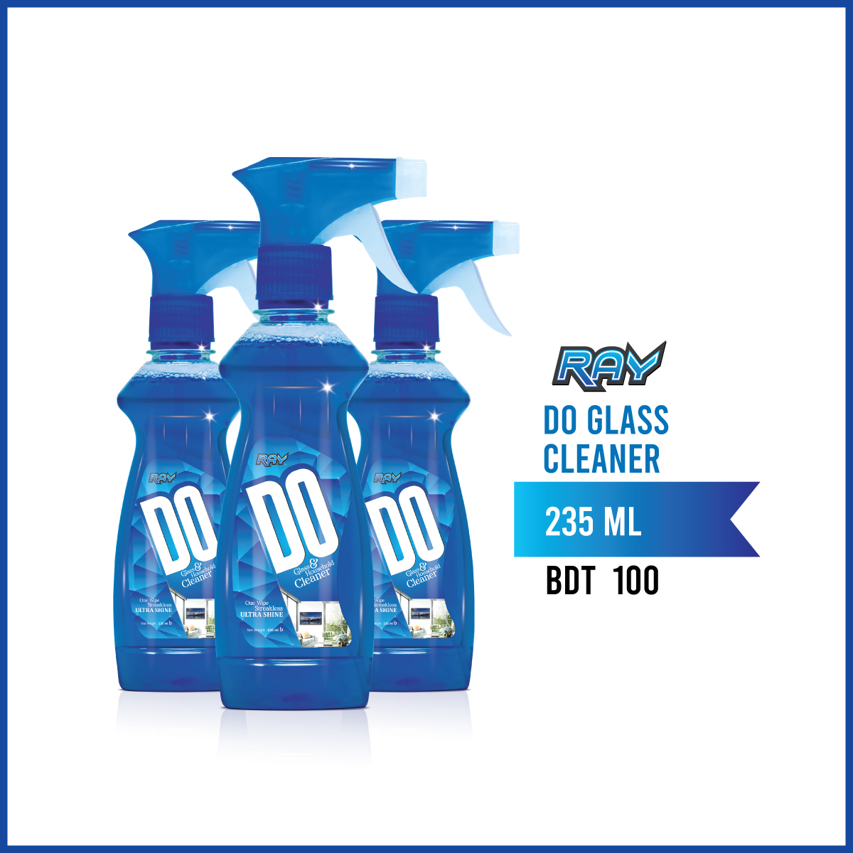 RAY DO Glass & Household Cleaner
