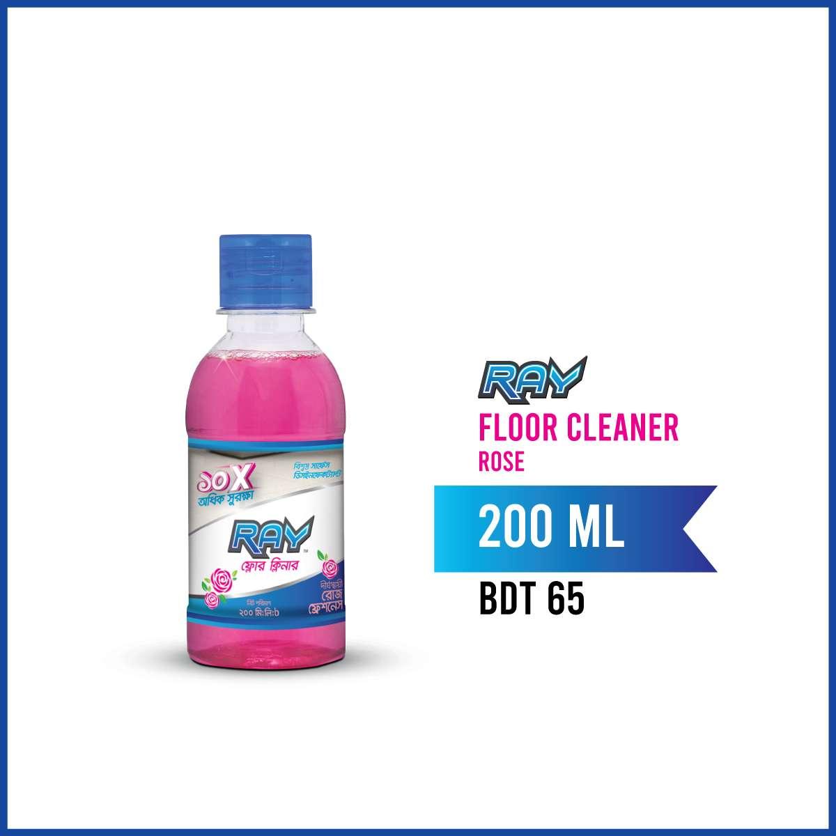 RAY Floor Cleaner Rose 200ml
