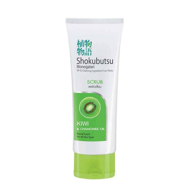 Shokubutsu Facial Foam Scrub