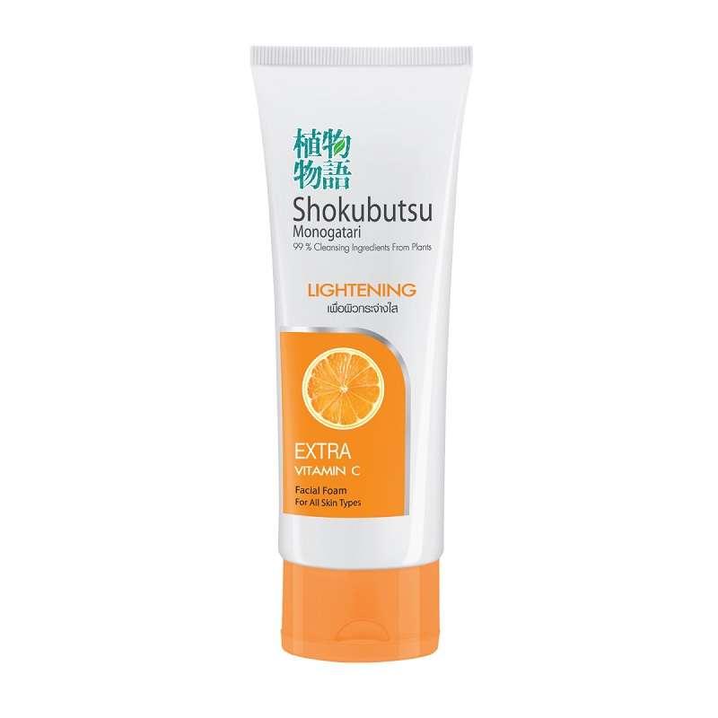 Shokubutsu Facial Foam whitening