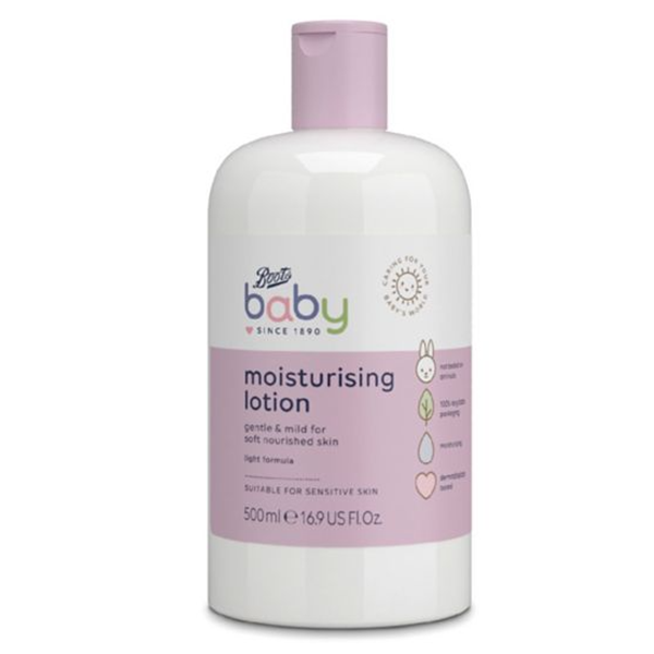 1Boots Baby Lotion 500ml