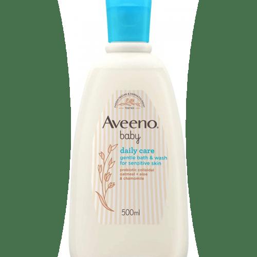 Aveeno Baby Gentle Bath & Wash 500ml