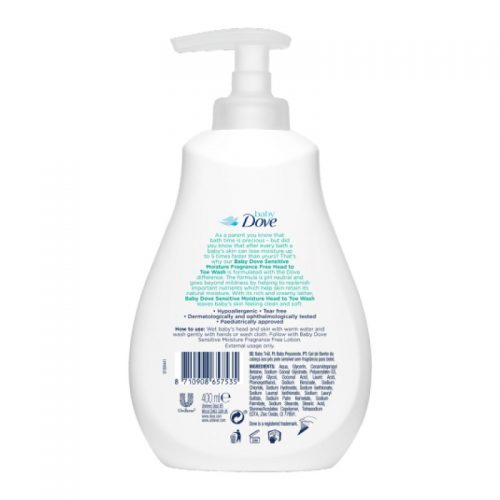 Dove Baby Head to Toe Wash Sensitive Moisture 200ml