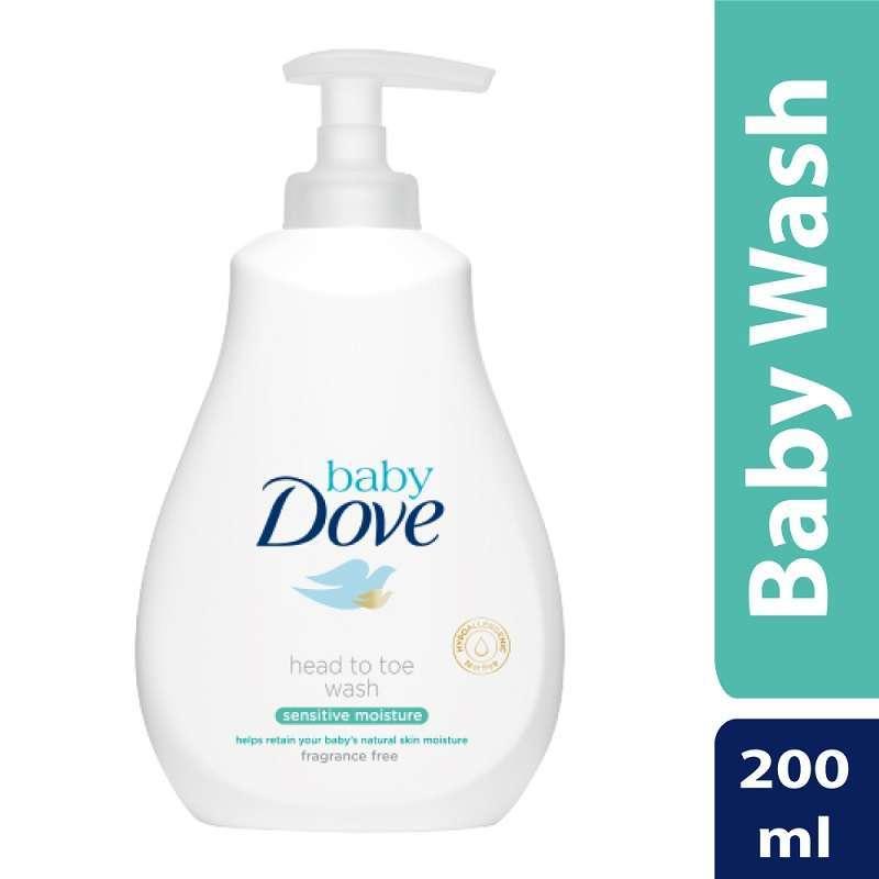 Baby Dove Head to Toe Wash Sensitive Moisture 200ml