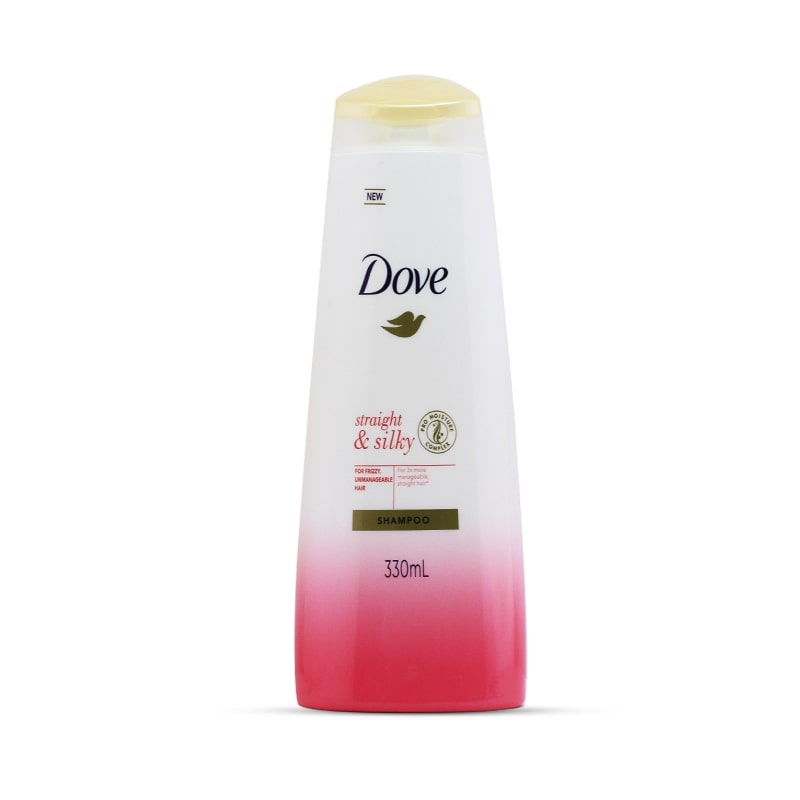 Dove Shampoo Straight & Silky 340ml