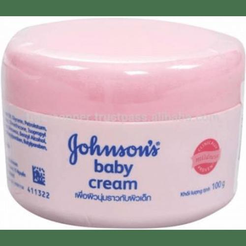 Johnson's Baby Cream Jar Pink/Milk Thai 100g