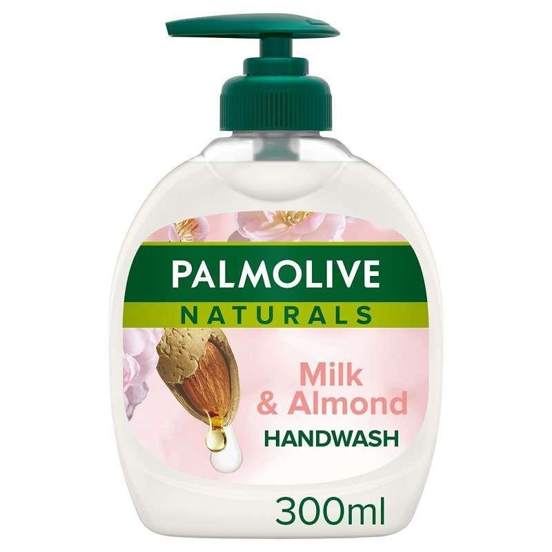 Palmolive Hand Wash 300ml(milk +almond Aquarium)