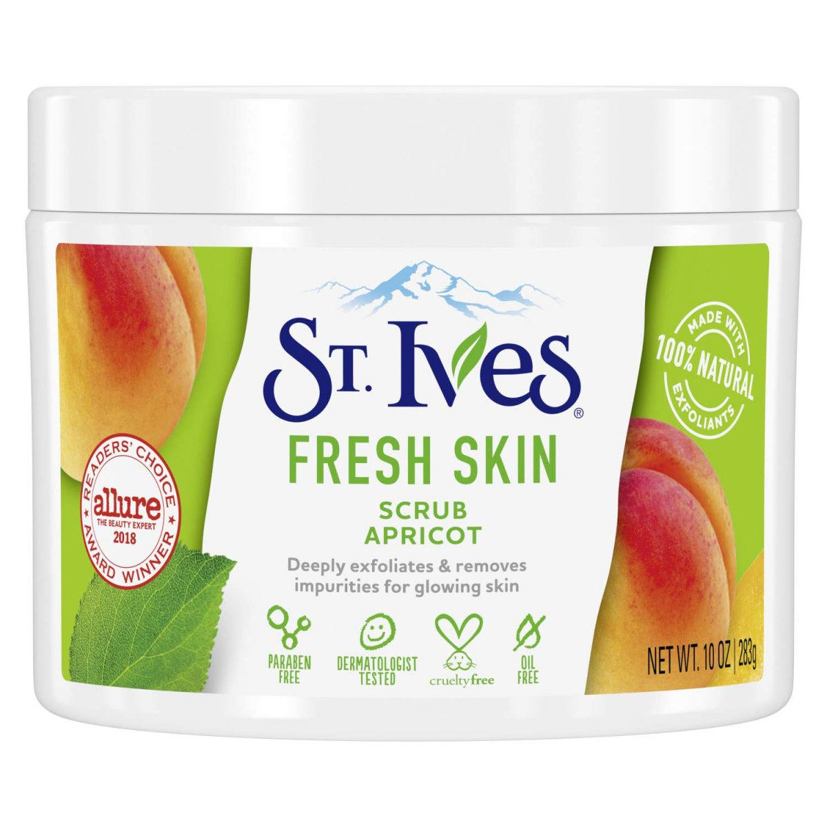 St.Ives Apricot Scrub Jar USA 283g