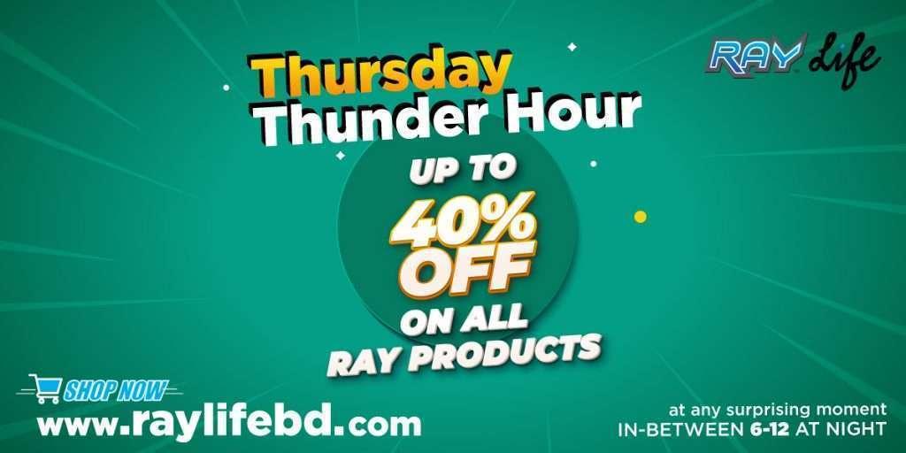 RAY Life Thunder hour