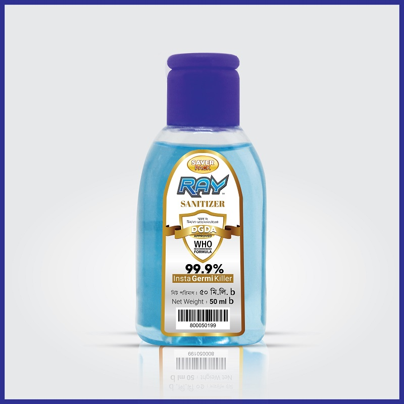 RAY Sanitizer Saver Pack