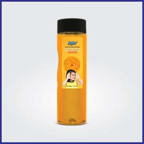 RAY Active Sanitizing Hand Wash Refill 1 Litre Marigold
